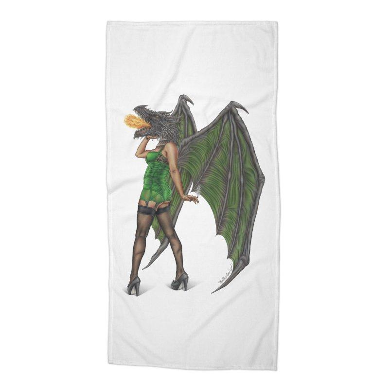 Draggin' Lady Accessories Beach Towel by MelJo JoJo's Artist Shop