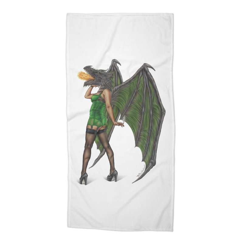 Draggin' Lady Accessories Beach Towel by MelJo JoJo's Artist Shop