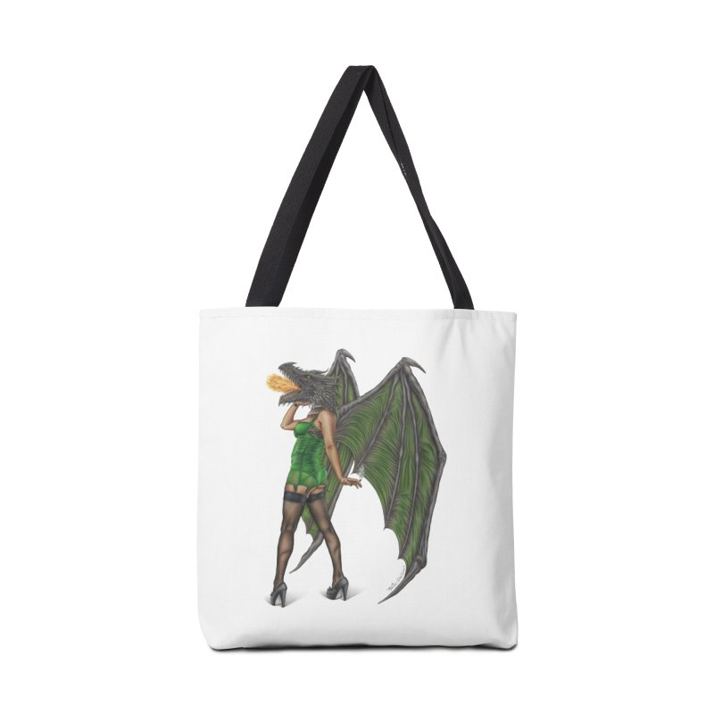 Draggin' Lady Accessories Tote Bag Bag by MelJo JoJo's Artist Shop
