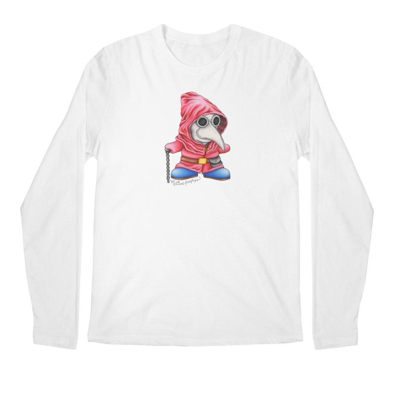 Shy Doctor Men's Longsleeve T-Shirt by MelJo JoJo's Artist Shop