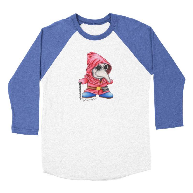 Shy Doctor Men's Baseball Triblend T-Shirt by MelJo JoJo's Artist Shop