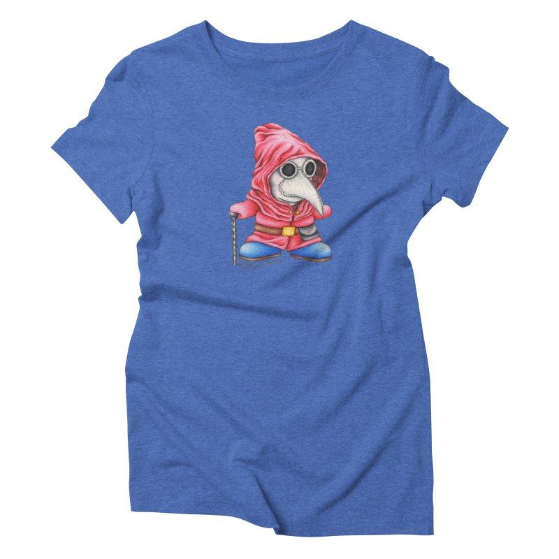 Shy Doctor Women's Triblend T-Shirt by MelJo JoJo's Artist Shop
