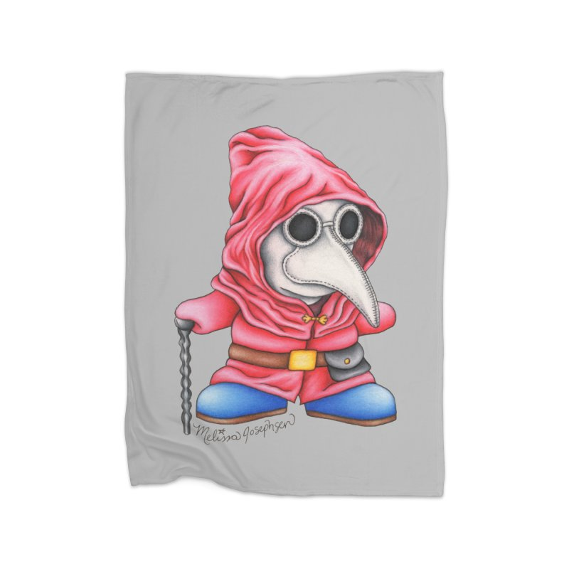 Shy Doctor Home Blanket by MelJo JoJo's Artist Shop