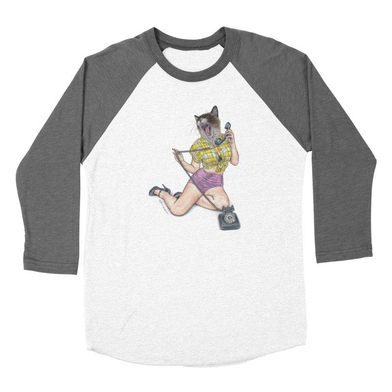 Chatty Catty Men's Longsleeve T-Shirt by MelJo JoJo's Artist Shop