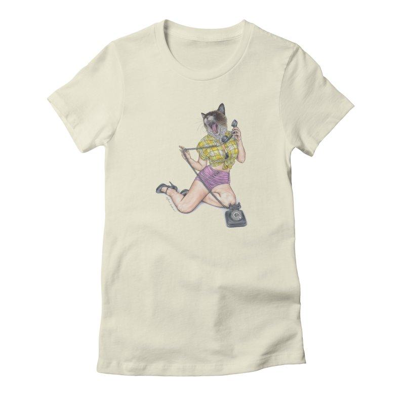 Chatty Catty Women's T-Shirt by MelJo JoJo's Artist Shop