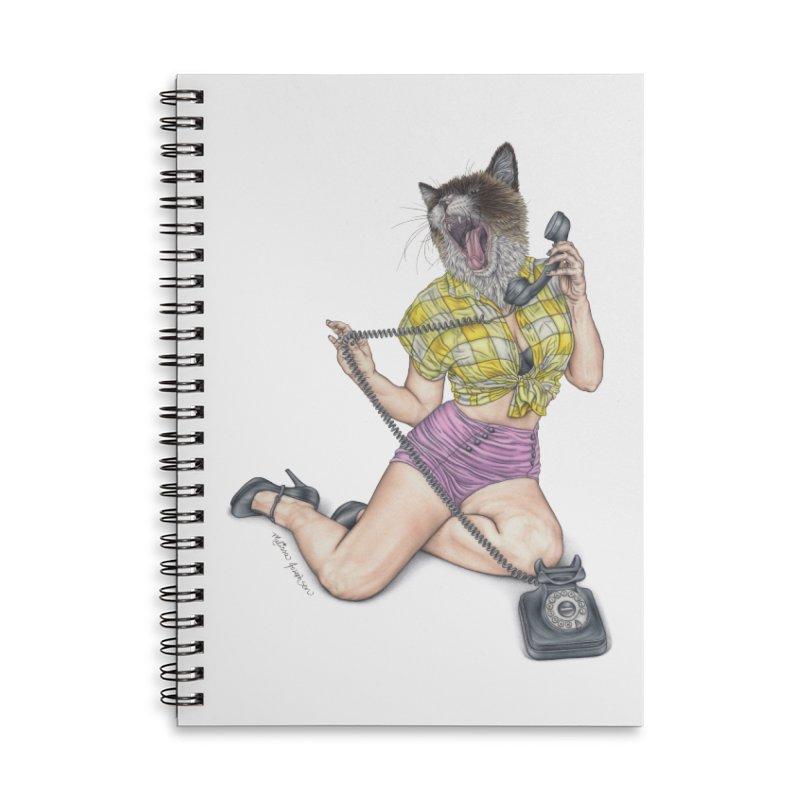 Chatty Catty Accessories Notebook by MelJo JoJo's Artist Shop