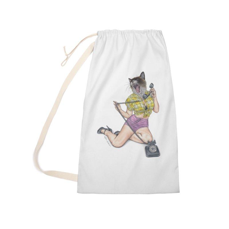 Chatty Catty Accessories Bag by MelJo JoJo's Artist Shop