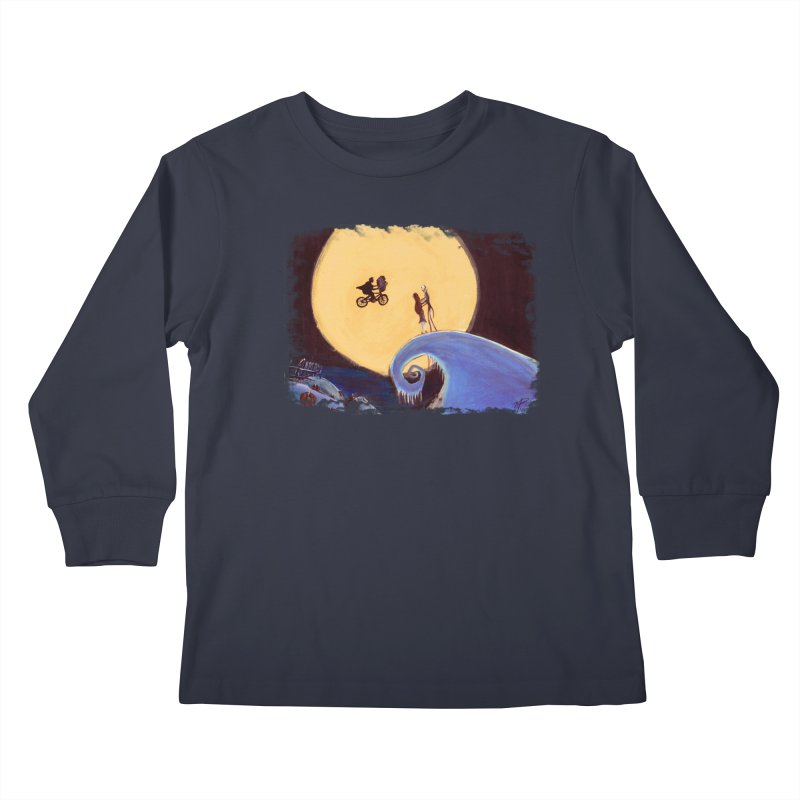 What's That? Kids Longsleeve T-Shirt by mellypereda's Artist Shop