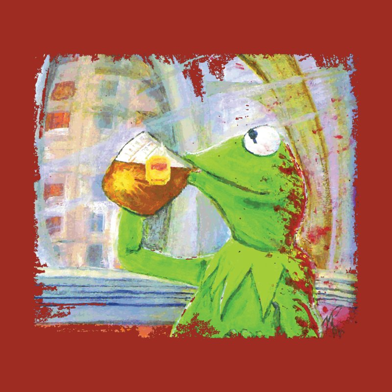 But That's None of My Business Men's Baseball Triblend T-Shirt by mellypereda's Artist Shop