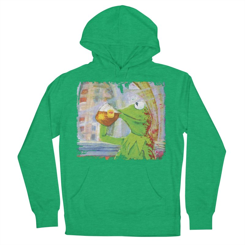 But That's None of My Business Men's French Terry Pullover Hoody by mellypereda's Artist Shop