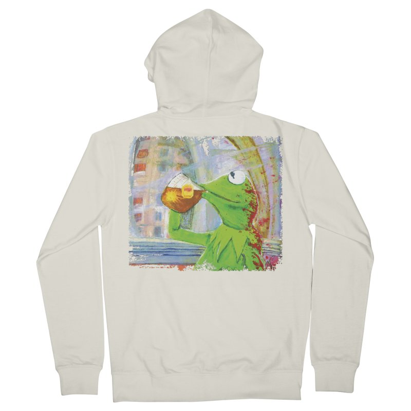 But That's None of My Business Women's French Terry Zip-Up Hoody by mellypereda's Artist Shop