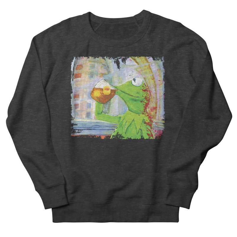 But That's None of My Business Men's French Terry Sweatshirt by mellypereda's Artist Shop