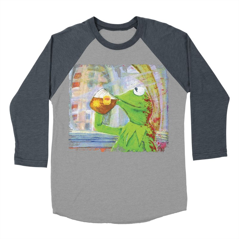 But That's None of My Business Women's Baseball Triblend T-Shirt by mellypereda's Artist Shop