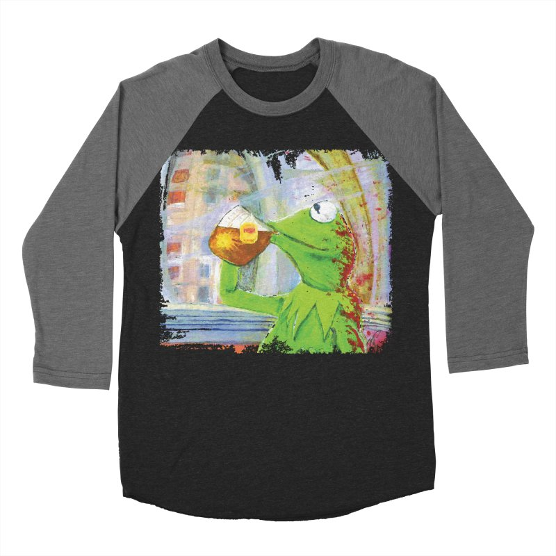But That's None of My Business Men's Baseball Triblend Longsleeve T-Shirt by mellypereda's Artist Shop