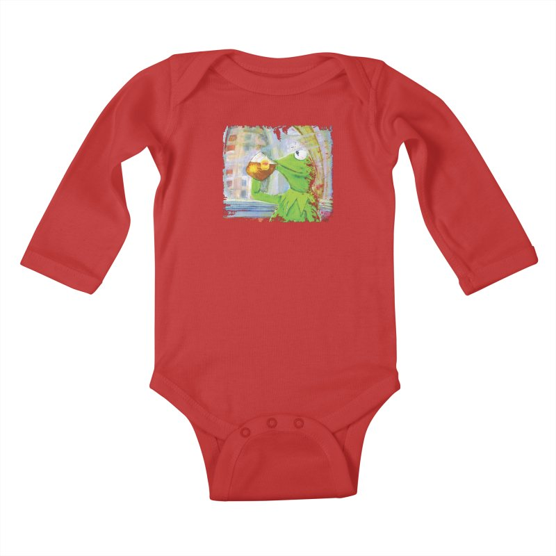 But That's None of My Business Kids Baby Longsleeve Bodysuit by mellypereda's Artist Shop