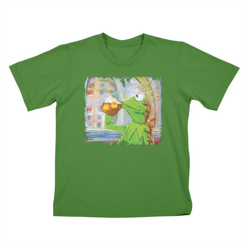 But That's None of My Business Kids T-Shirt by mellypereda's Artist Shop