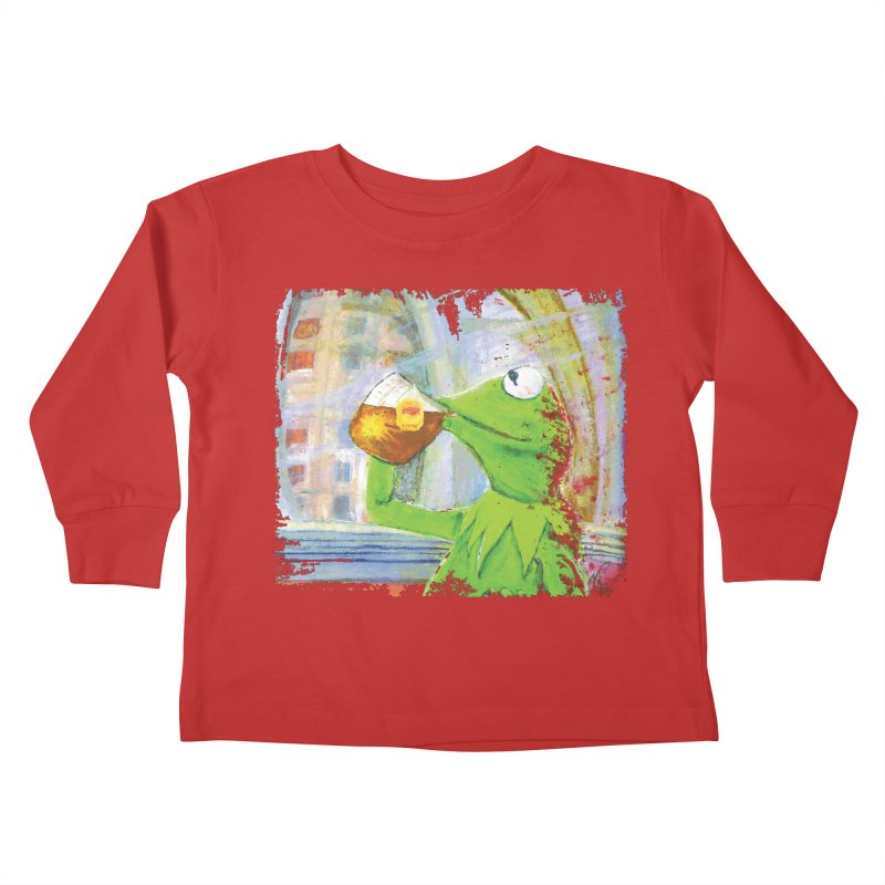 But That's None of My Business Kids Toddler Longsleeve T-Shirt by mellypereda's Artist Shop