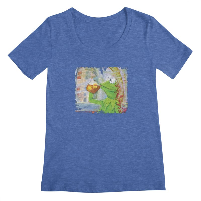But That's None of My Business Women's Regular Scoop Neck by mellypereda's Artist Shop