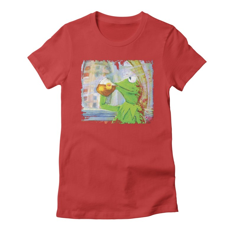 But That's None of My Business Women's Fitted T-Shirt by mellypereda's Artist Shop