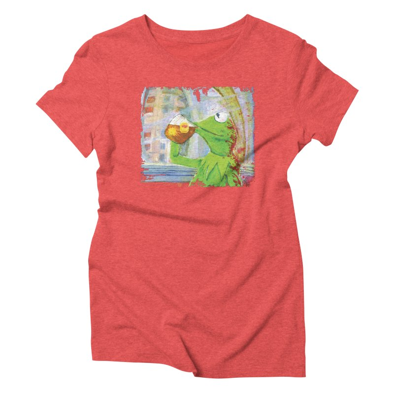 But That's None of My Business Women's Triblend T-Shirt by mellypereda's Artist Shop
