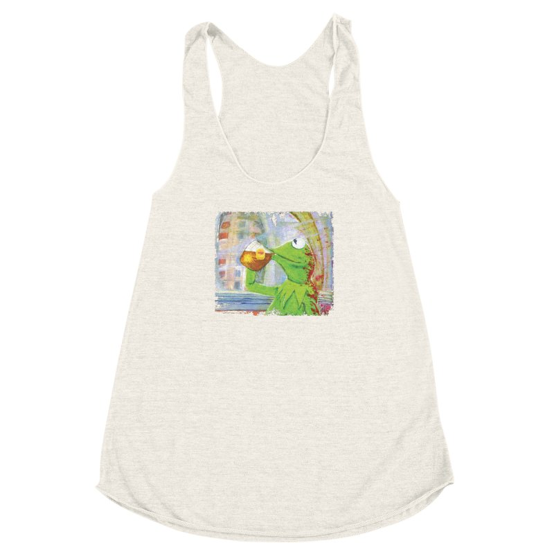 But That's None of My Business Women's Racerback Triblend Tank by mellypereda's Artist Shop
