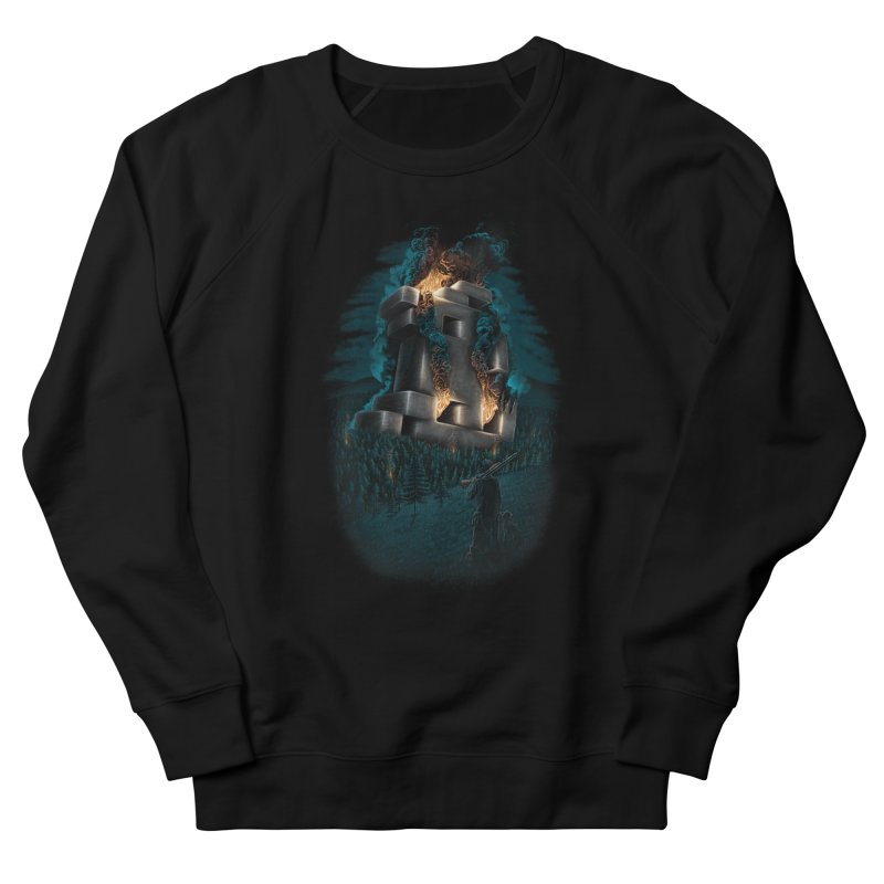 1978 Crash Site Men's Sweatshirt by Threadless T-shirt Artist Shop - Melmike - Michael