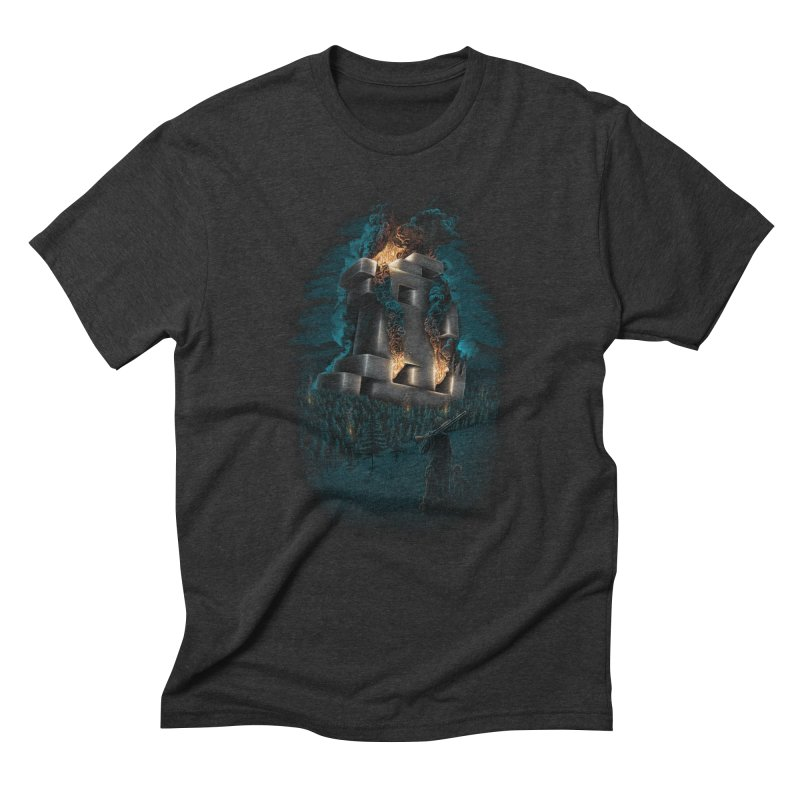 1978 Crash Site Men's Triblend T-Shirt by Threadless T-shirt Artist Shop - Melmike - Michael