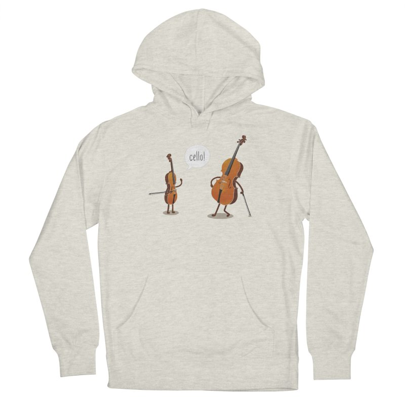 Cello! Men's French Terry Pullover Hoody by Threadless T-shirt Artist Shop - Melmike - Michael