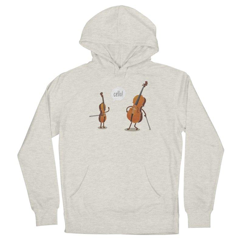 Cello! Men's Pullover Hoody by Threadless T-shirt Artist Shop - Melmike - Michael