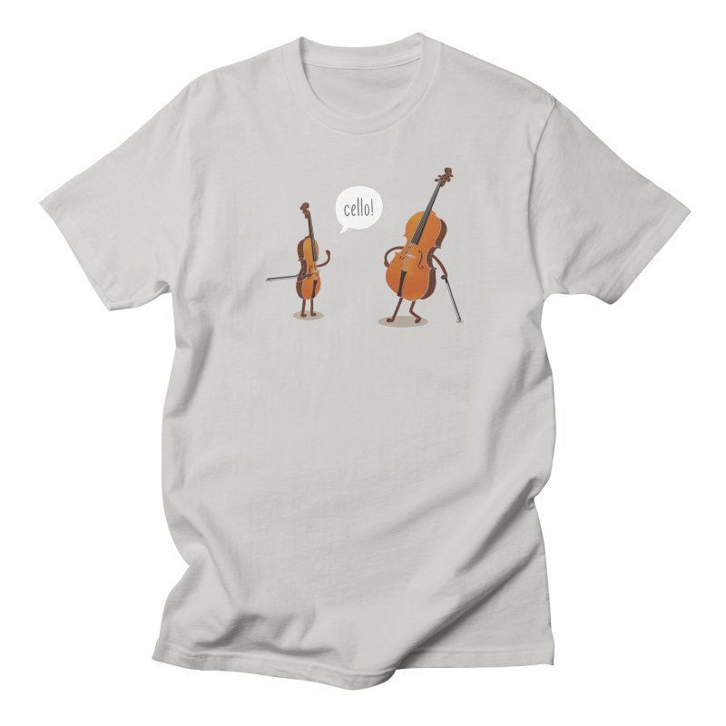 Cello! Men's T-shirt by Threadless T-shirt Artist Shop - Melmike - Michael