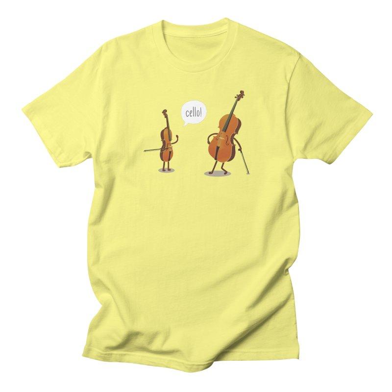 Cello! Men's T-Shirt by Threadless T-shirt Artist Shop - Melmike - Michael