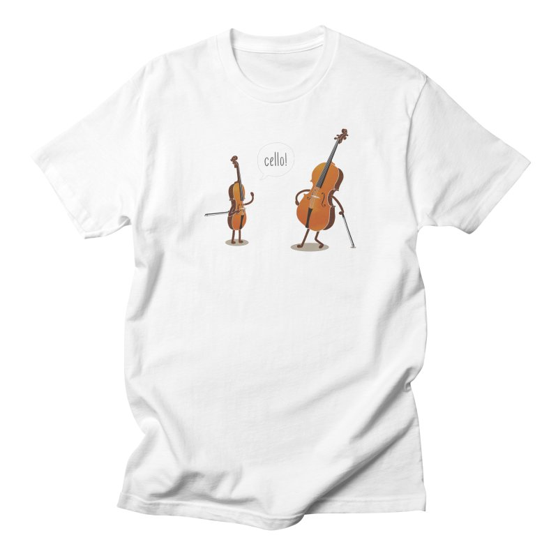 Cello!   by Threadless T-shirt Artist Shop - Melmike - Michael