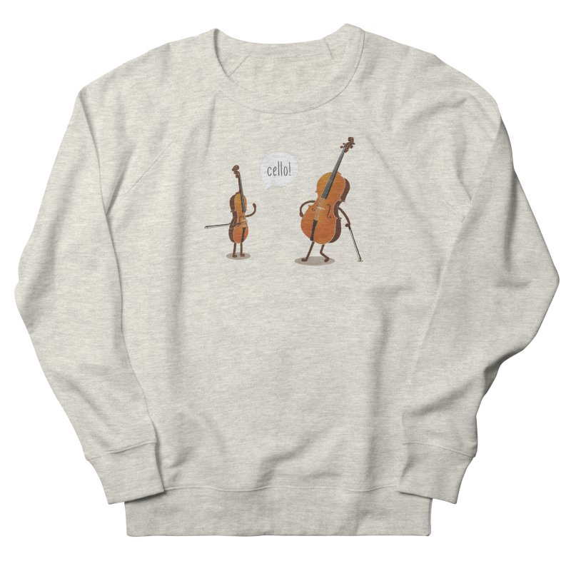 Cello! Men's Sweatshirt by Threadless T-shirt Artist Shop - Melmike - Michael