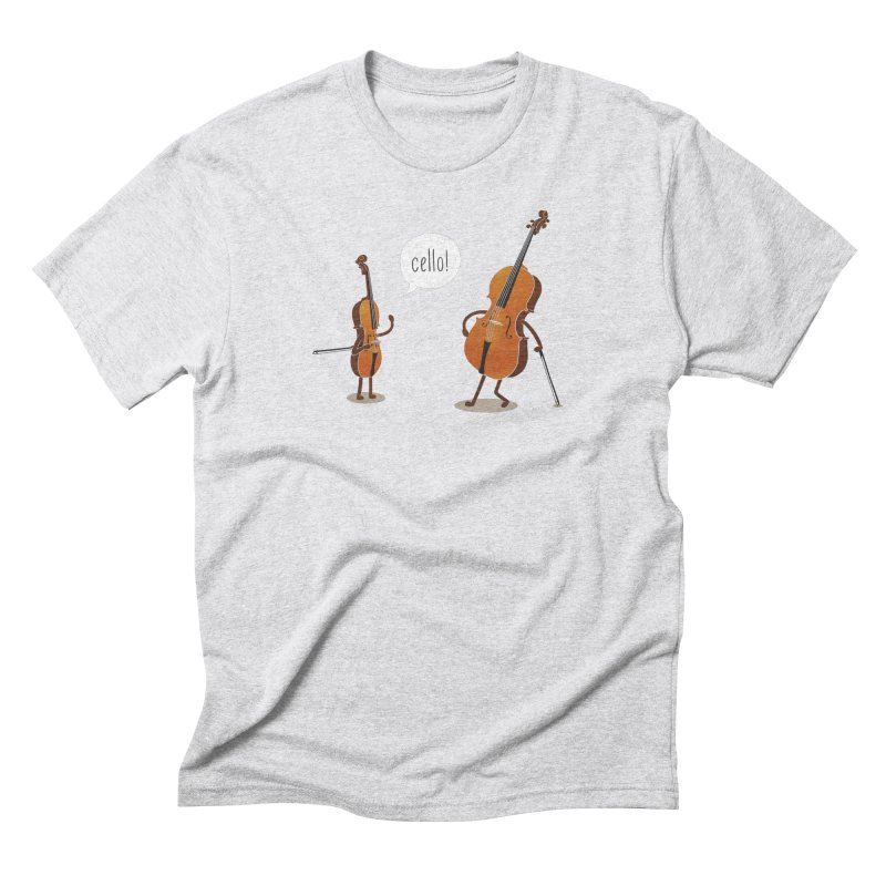 Cello! Men's Triblend T-Shirt by Threadless T-shirt Artist Shop - Melmike - Michael