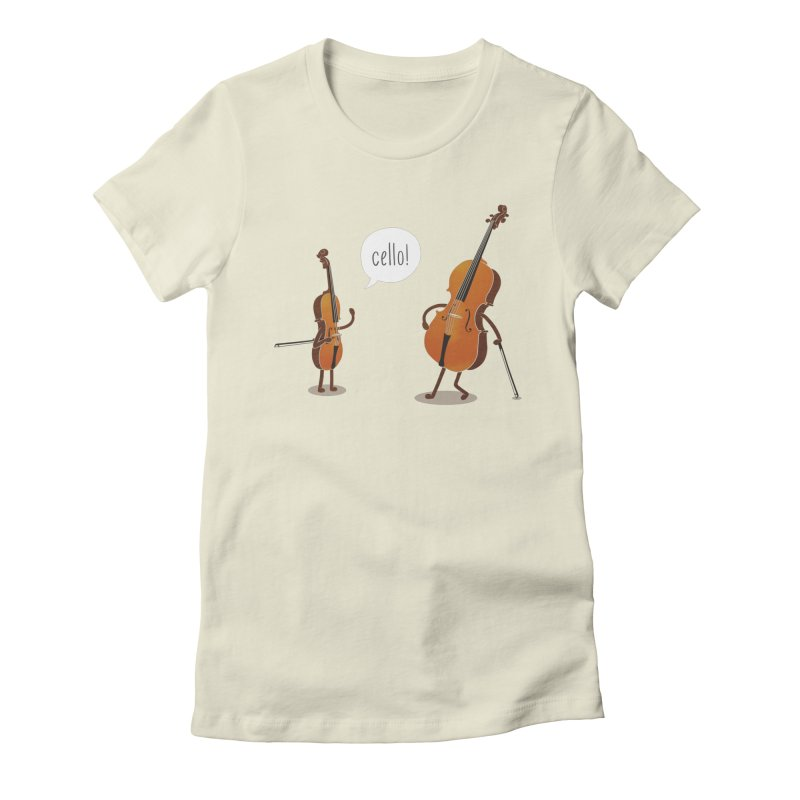 Cello!   by Threadless T-shirt Artist Shop - Melmike - Michael