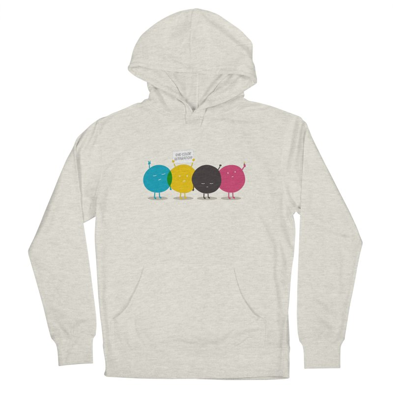 End Color Separation Men's French Terry Pullover Hoody by Threadless T-shirt Artist Shop - Melmike - Michael