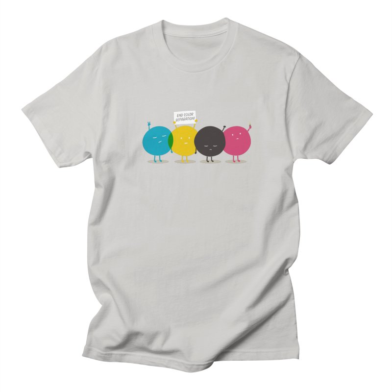 End Color Separation Men's T-shirt by Threadless T-shirt Artist Shop - Melmike - Michael