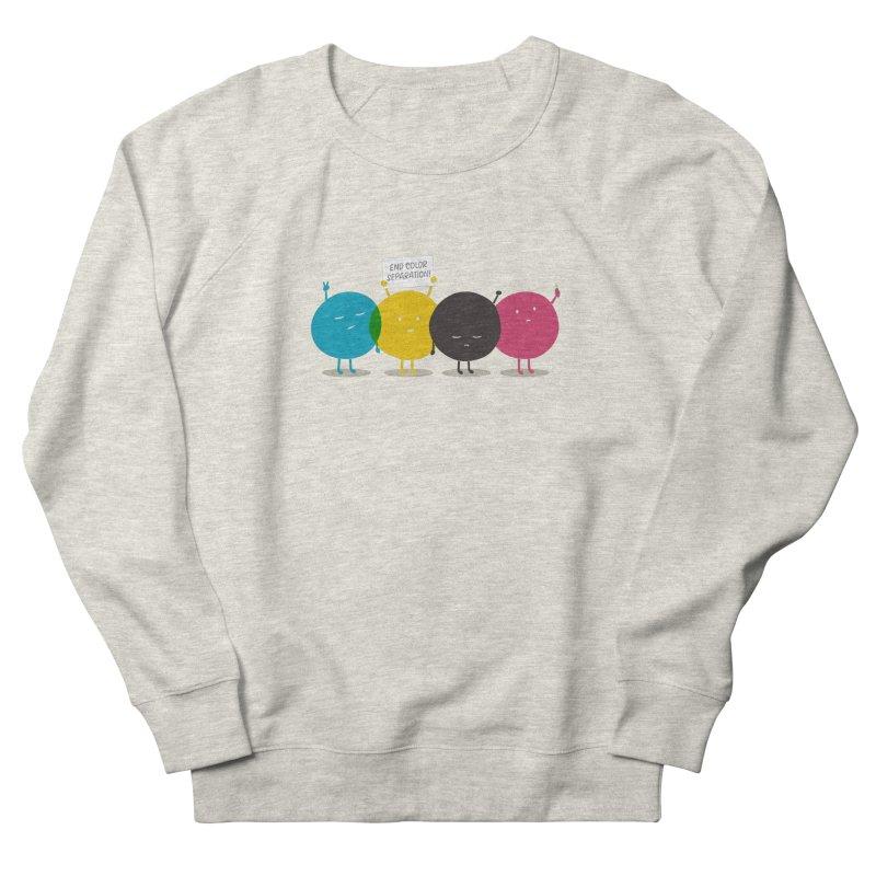 End Color Separation Men's French Terry Sweatshirt by Threadless T-shirt Artist Shop - Melmike - Michael