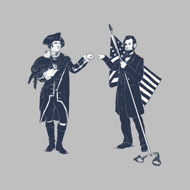 Fist Bump For Liberty Men's V-Neck by Threadless T-shirt Artist Shop - Melmike - Michael