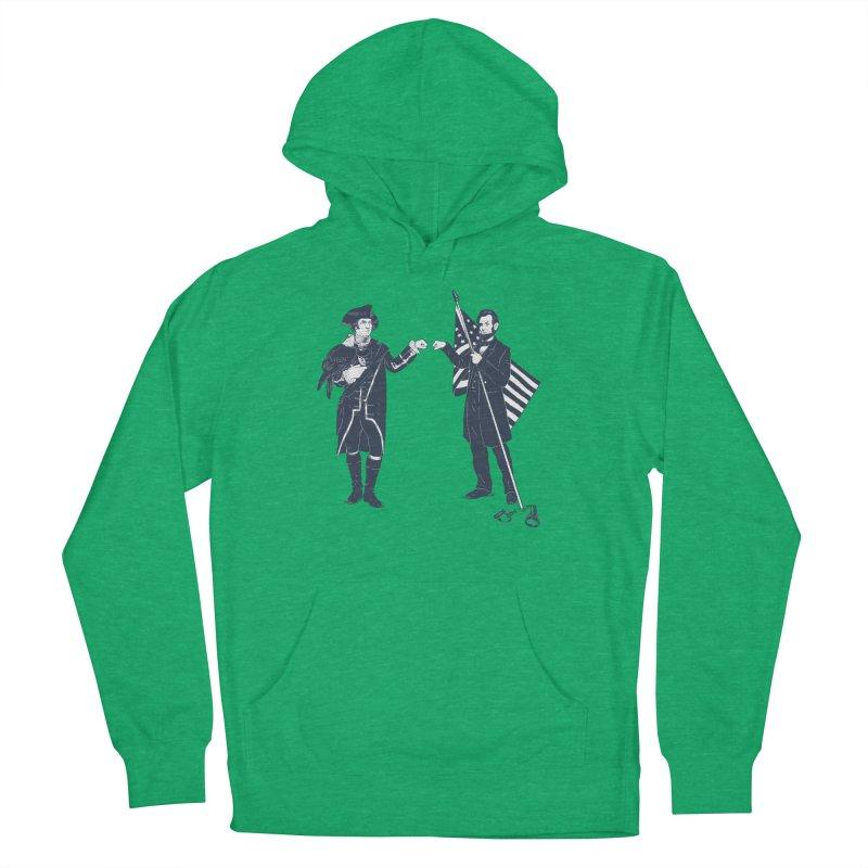 Fist Bump For Liberty Men's Pullover Hoody by Threadless T-shirt Artist Shop - Melmike - Michael