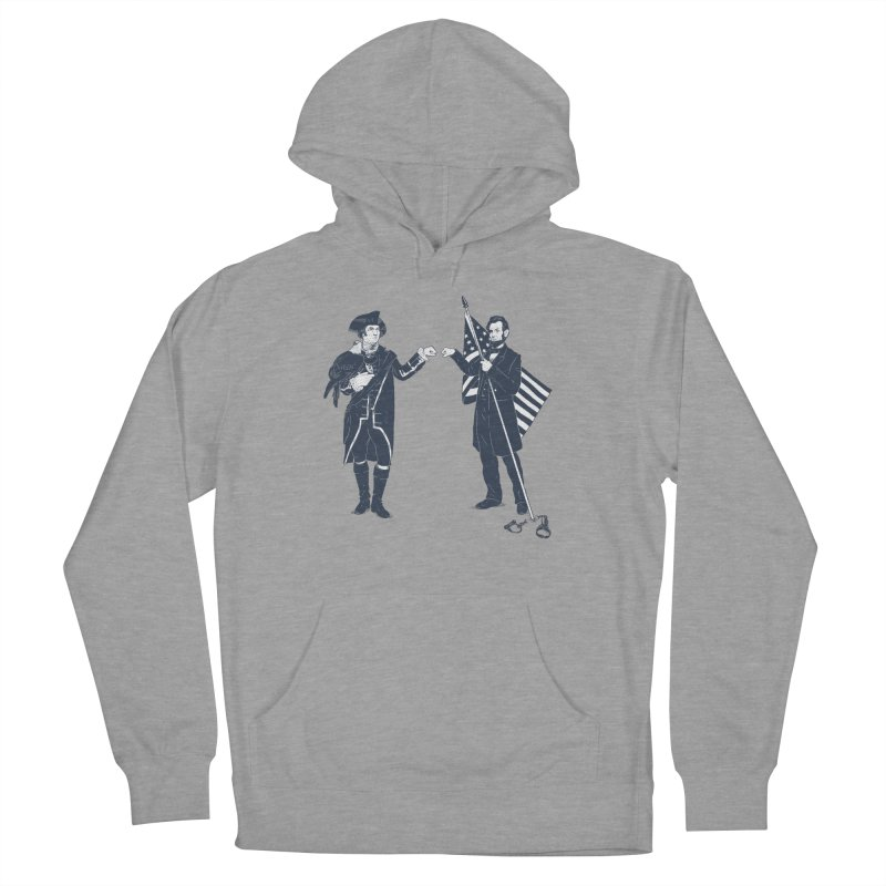 Fist Bump For Liberty Men's French Terry Pullover Hoody by Threadless T-shirt Artist Shop - Melmike - Michael