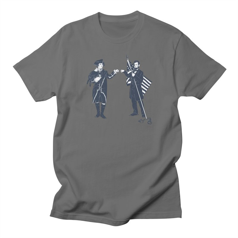 Fist Bump For Liberty Men's T-shirt by Threadless T-shirt Artist Shop - Melmike - Michael