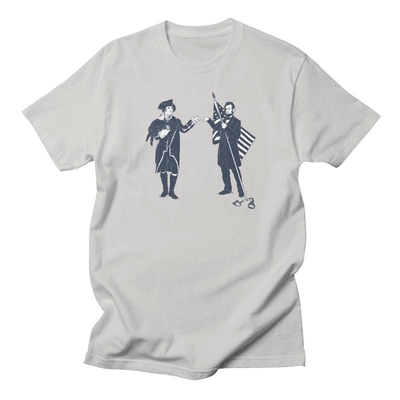 Fist Bump For Liberty Men's T-Shirt by Threadless T-shirt Artist Shop - Melmike - Michael