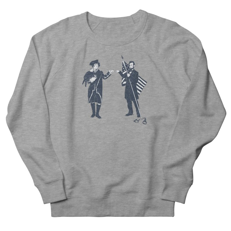 Fist Bump For Liberty Women's Sweatshirt by Threadless T-shirt Artist Shop - Melmike - Michael
