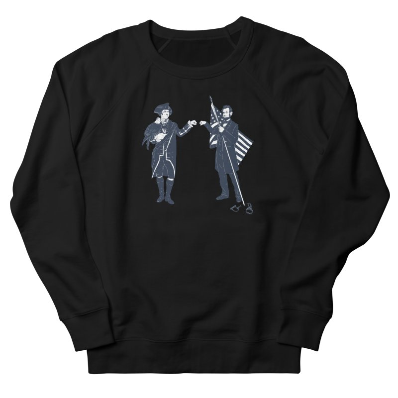 Fist Bump For Liberty Men's Sweatshirt by Threadless T-shirt Artist Shop - Melmike - Michael
