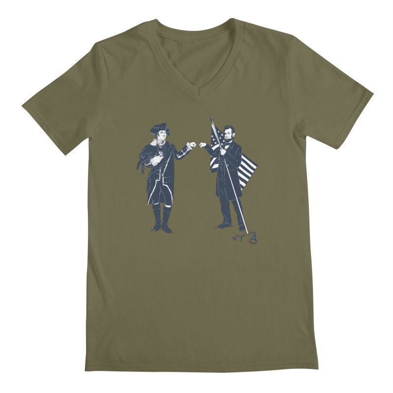Fist Bump For Liberty   by Threadless T-shirt Artist Shop - Melmike - Michael