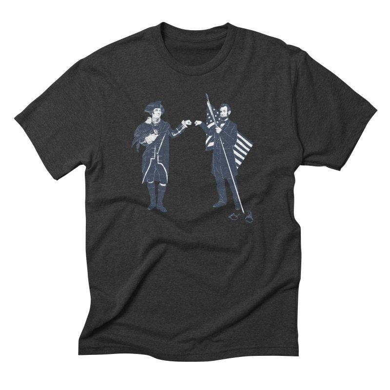 Fist Bump For Liberty   by Threadless T-shirt Artist Shop - Melmike - Michael