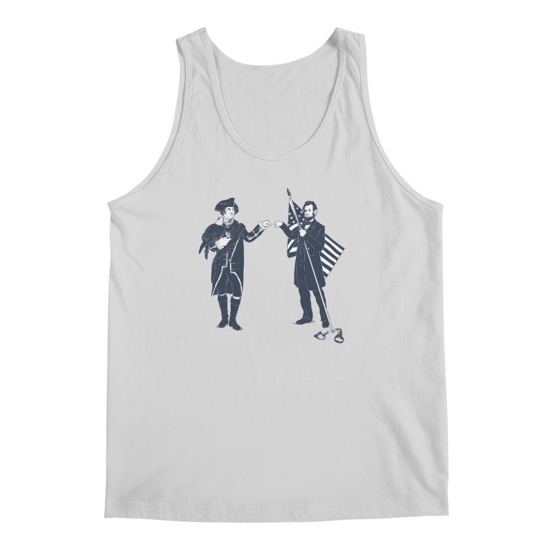 Fist Bump For Liberty Men's Tank by Threadless T-shirt Artist Shop - Melmike - Michael