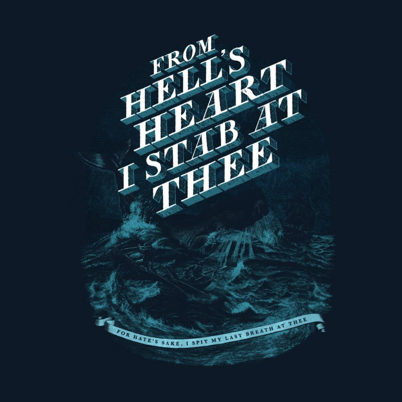 From Hell's Heart None  by Threadless T-shirt Artist Shop - Melmike - Michael