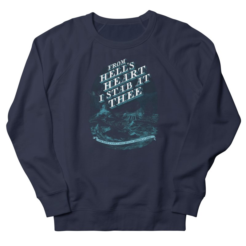 From Hell's Heart Men's French Terry Sweatshirt by Threadless T-shirt Artist Shop - Melmike - Michael